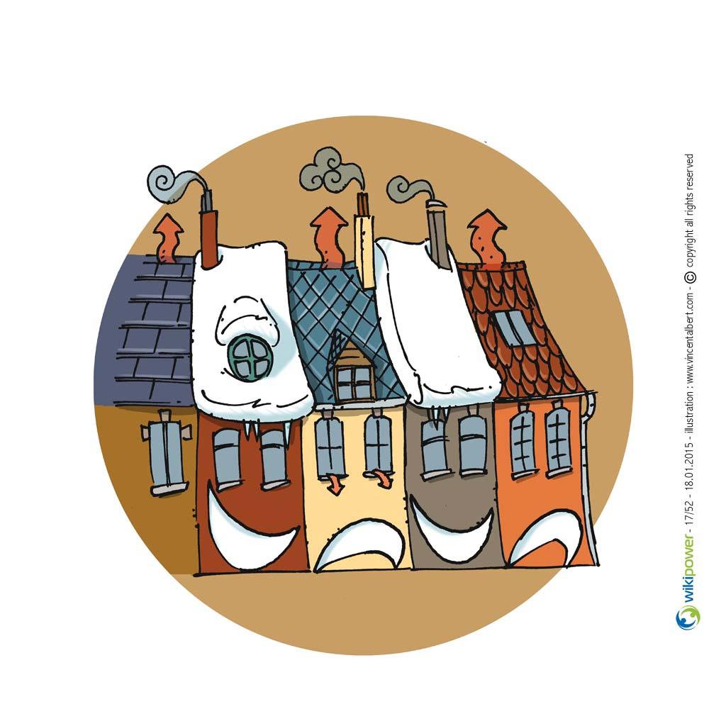 Conseil énergie - MAISONS MITOYENNES, ISOLEZ VOTRE TOITURE