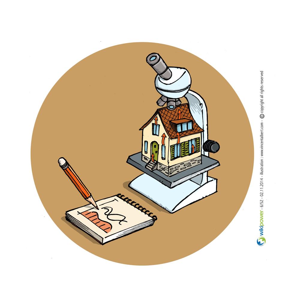 Conseil énergie dessin - Vous envisagez des travaux chez vous?