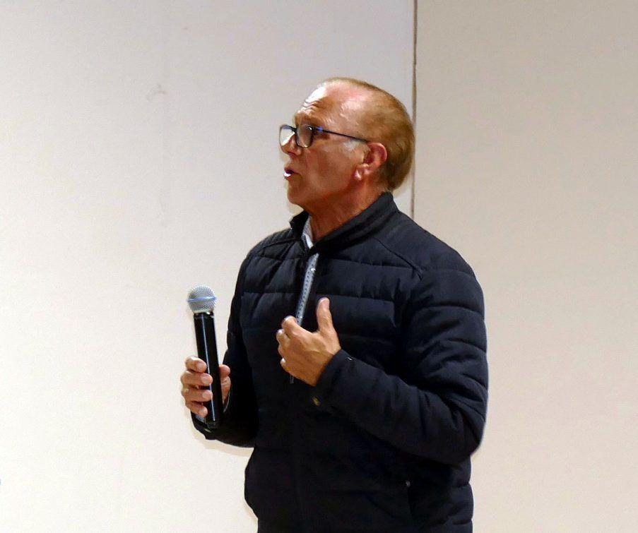 Gérard Roujas, Président du PETR Pays Sud Toulousain.