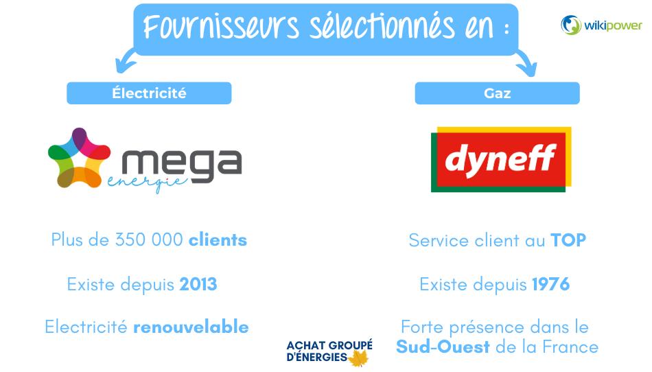 AGN Feuille - Les offres - Fournisseurs sélectionnés