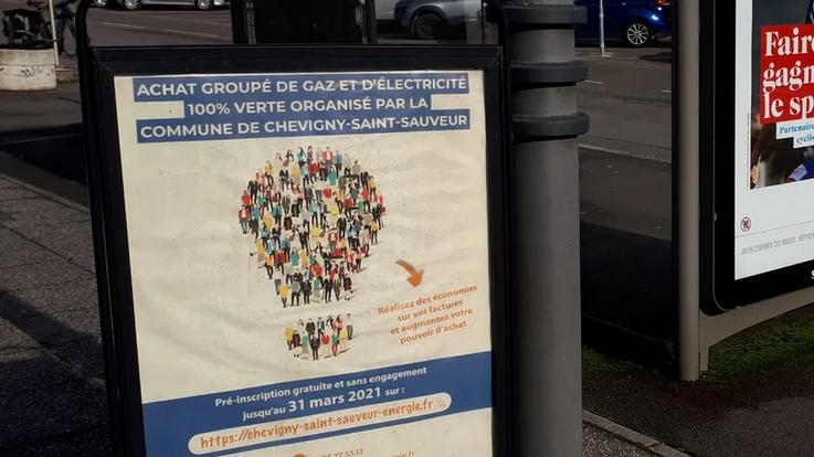 Achat groupé d'énergies de la Commune de Chevigny-saint-sauveur